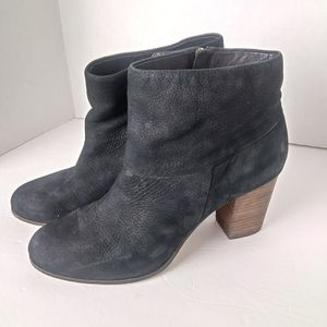 Cole Haan Nike Air Cassidy Black Nubuck Boots. 9